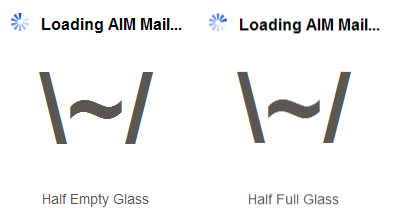 AOL-Email-Half-Empty-Glass-Half-Full-Glass-Mike-Urbonas-blog