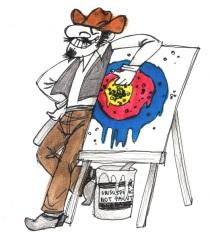 Texas-Sharpshooter-Fallacy