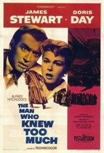 The Man Who Knew Too Much (classic 1956 Alfred Hitchcock film)