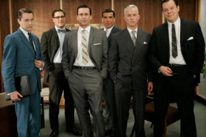 """We need more people like... us!"" Mad Men photo via CNET"