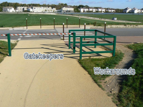 Gatekeepers and Workarounds